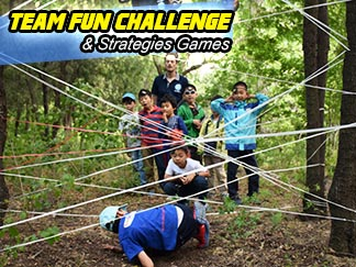 Team Fun / Challenge Strategies Games