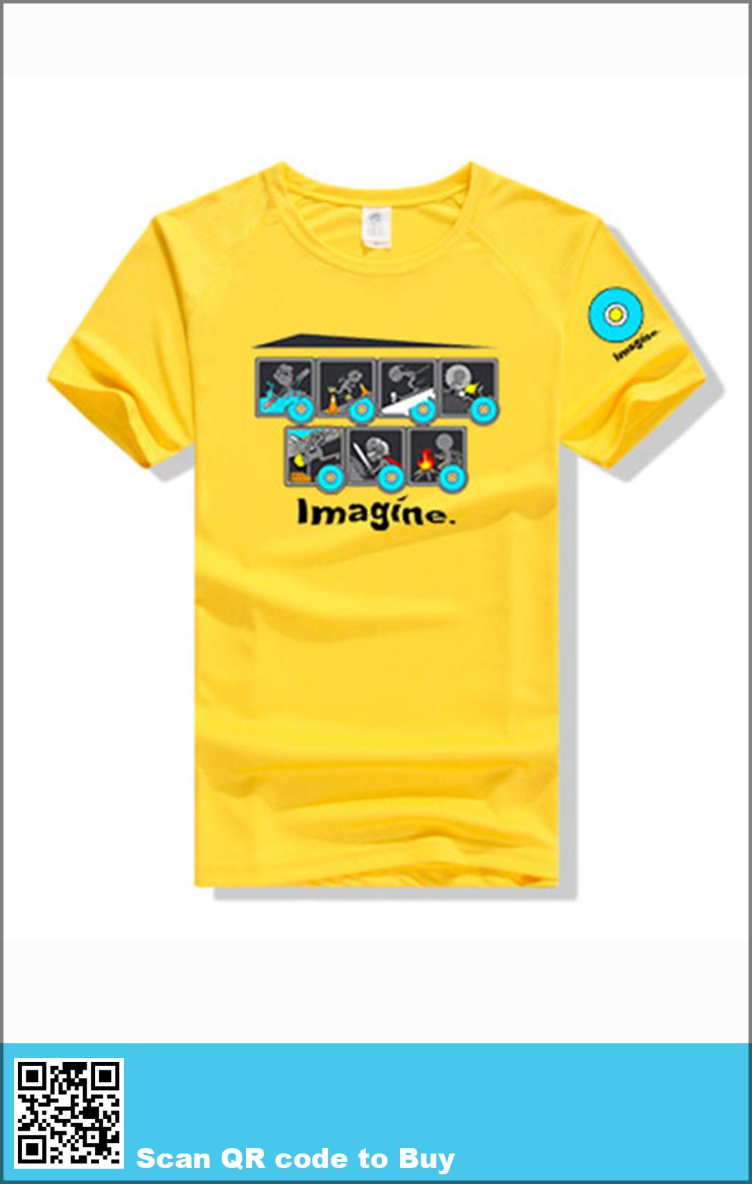 Imagine t-shirt yellow